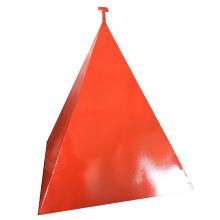Пирамида для гидранта 500х500х800