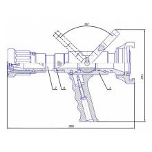 ствол пожарный СРП-50А