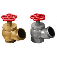 Клапаны пожарных кранов КПК-65-1, КПК-65-2 угловые