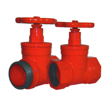 Клапаны пожарных кранов прямоточные КПК-65-1(180) КПК-65-2(180)