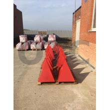 пожарная пирамида, пирамида +для пожарного гидранта, пирамида +для пожарных гидрантов 500х500х600 мм