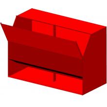 ящик для песка пожарный яп 05, ящик +для песка 0 5 м3, ящик +для песка пожарный 0.5