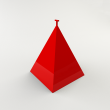 пирамида +для пожарного гидранта, пирамида +для пожарного гидранта 750х750х900