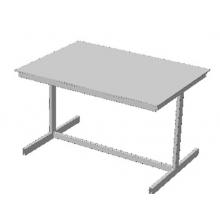 Стол офисный с ламинированной столешницей из ЛДСП (Арт. Стол-02)