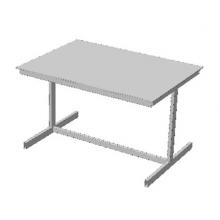 Стол офисный с ламинированной столешницей из ЛДСП (Арт. Стол-03)