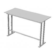 Стол офисный с ламинированной столешницей из ЛДСП (Арт. Стол-01)