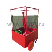 Щит пожарный передвижной ППЩ без комплектации