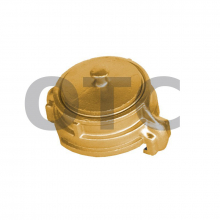 Головка латунная заглушка всасывающая ГЗВ-125